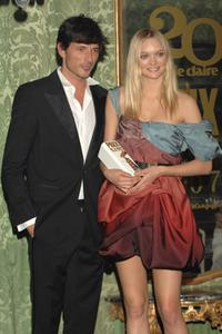 Andres Velencoso and Gemma Ward at the 5th Marie Claire Magazine Awards.