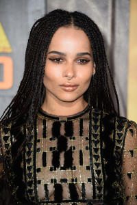 Zoe Kravitz at the California premiere of