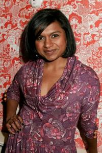 Mindy Kaling at the Charolette Ronson Fall 2007 fashion show during the Mercedes-Benz Fashion Week.