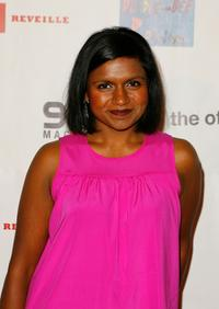 Mindy Kaling at the NIVEA for Men premiere party of