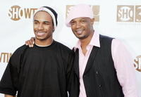 Damon Wayans Jr. and Damon Wayans at the Showtime's 30th Anniversary and Summer 2006 TCA party.
