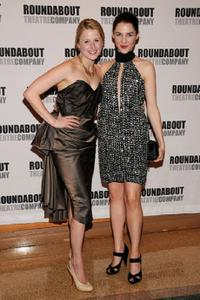 Mamie Gummer and Jessica Collins at the after party of the opening night of