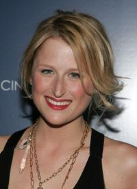 Mamie Gummer at the premiere of
