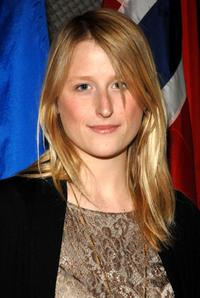 Mamie Gummer at the special screening of