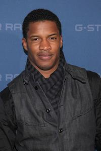 Nate Parker at the G Star Fall 2009 fashion show during the Mercedes-Benz Fashion Week.
