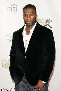 Curtis Jackson at the Conde Nast Media Group's Fourth Annual Fashion Rocks Concert.