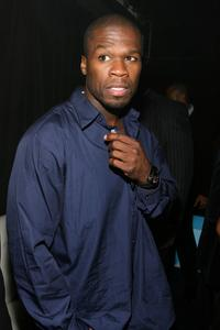 Curtis Jackson at the after party of the premiere of