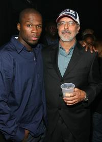 Curtis Jackson and Director Jon Avnet at the after party of the premiere of