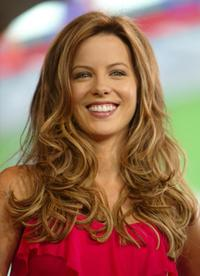 Kate Beckinsale at the MTV's TRL for the promotion of