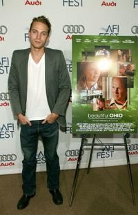 David Call at the world premiere of