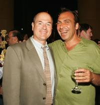 Larry Miller and Taylor Negron at the after party of the premiere of
