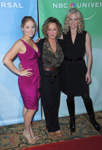 Erika Christensen, Bonnie Bedelia and Monica Potter at the Press Tour Cocktail party in California.