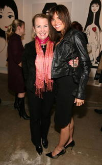 Juliet Mills and Heidi Mueller at the Ghettogloss Presents