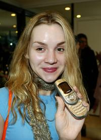 Rachel Miner at the Ultimate Suite for the 2003 American Music Awards.