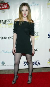 Rachel Miner at the after party of