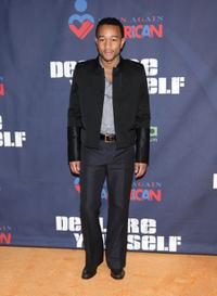 John Legend at the pre-inauguration party hosted by Tropicana.