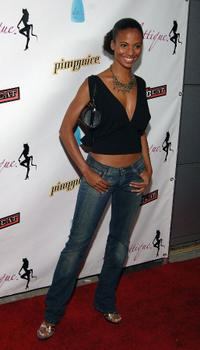 Candace Smith at the opening night of Harlottique.