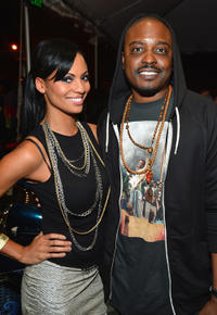 Candace Smith and Jason Weaver at the after party of the California premiere of