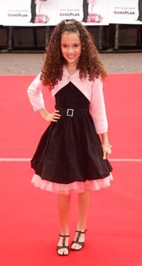 Madison Pettis at the UK Charity premiere of