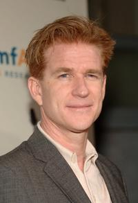 Matthew Modine at the AMFAR benefit.