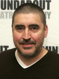 Alfred Molina at the rehearsals for Roundabout Theatre Company's new play