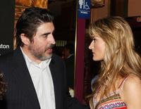 Alfred Molina and Natascha McElhone at the premiere of TNT's