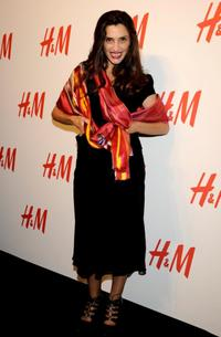 Angela Molina at the H&M Store Opening in Madrid.