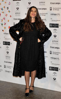 Angela Molina at the presentation party of Malaga Film Festival in Spain.