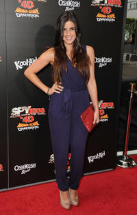 Electra Avellan at the California premiere of