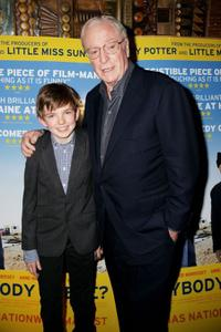 Michael Caine and Bill Milner at the Gala premiere of