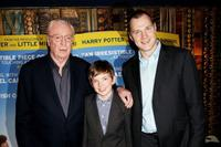 Michael Caine, Bill Milner and David Morrissey at the Gala premiere of