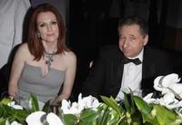 Julianne Moore and Jean Todt at the 150th Anniversary dinner of Boucheron.