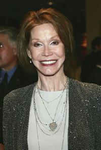 Mary Tyler Moore at the White House Correspondents Dinner.