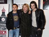 Andrei Chadov, director Suzie Halewood and Ben Barnes at the