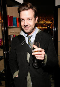 Jason Sudeikis at the Barneys New York Unveils 2009 Holiday Window Celebrating 35 Years of SNL.