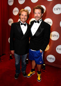 Will Forte  and Jason Sudeikis at the 2010 ESPY Awards in California.