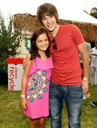 Bailee Madison and Devon Werkheiser at the 21st A Time For Heroes Celebrity Picnic sponsored by Disney.