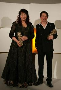 Yolande Moreau and Mathieu Amalric at the 30th Nuit des Cesar.