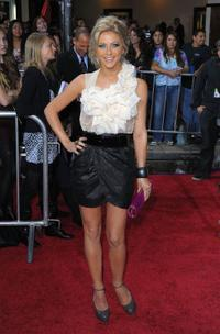Julianne Hough at the Los Angeles premiere of