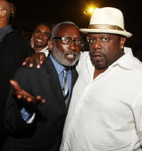 Garrett Morris and Cedric the Entertainer at the afterparty for the premiere of