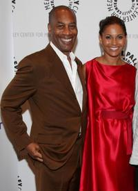 Joe Morton and Salli Richardson-Whitfield at the screening of