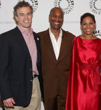 Mark Stern, Joe Morton and Salli Richardson-Whitfield at the screening of