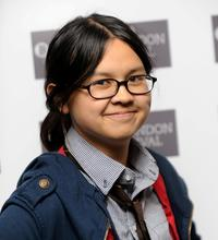 Charlyne Yi at the premiere of