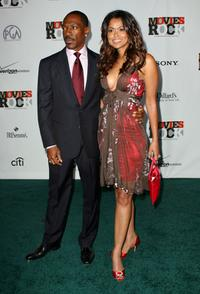 Eddie Murphy and Tracey Edmonds at the