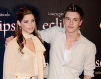 Ashley Greene and Xavier Samuel at the photocall of