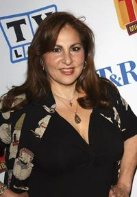Kathy Najimy at the Museum of Television and Radio Cocktail Party.