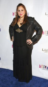 Kathy Najimy at the opening night performance of