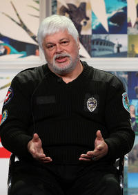 Paul Watson at the Discovery Channel 2008 Summer Television Critics Association Press Tour in California.