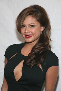 Vanessa Minnillo at the Betsey Johnson Fall 2007 fashion show during the Mercedes-Benz Fashion week.