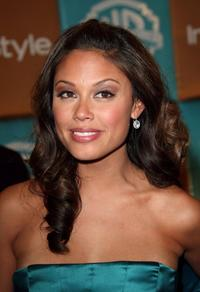 Vanessa Minnillo at the In Style Magazine and Warner Bros. Studios Golden Globe after party.